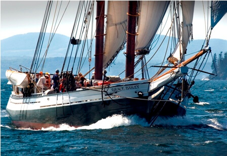 Experience a Maine Windjammer Cruise on the Schooner Grace Bailey