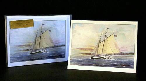 Maine Windjammer Cruises - note cards