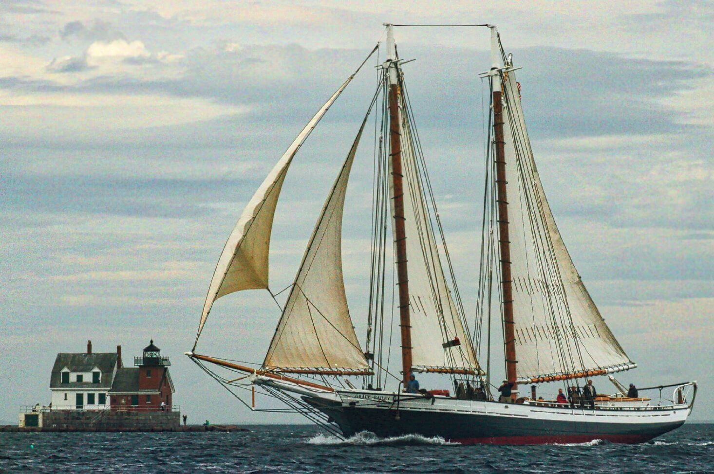 Maine Windjammer Cruises Schooner Mercantile