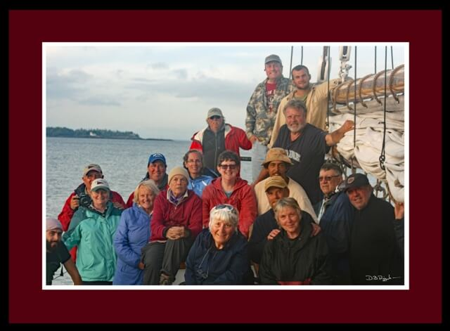 Maine Windjammer Cruises Passenger Group