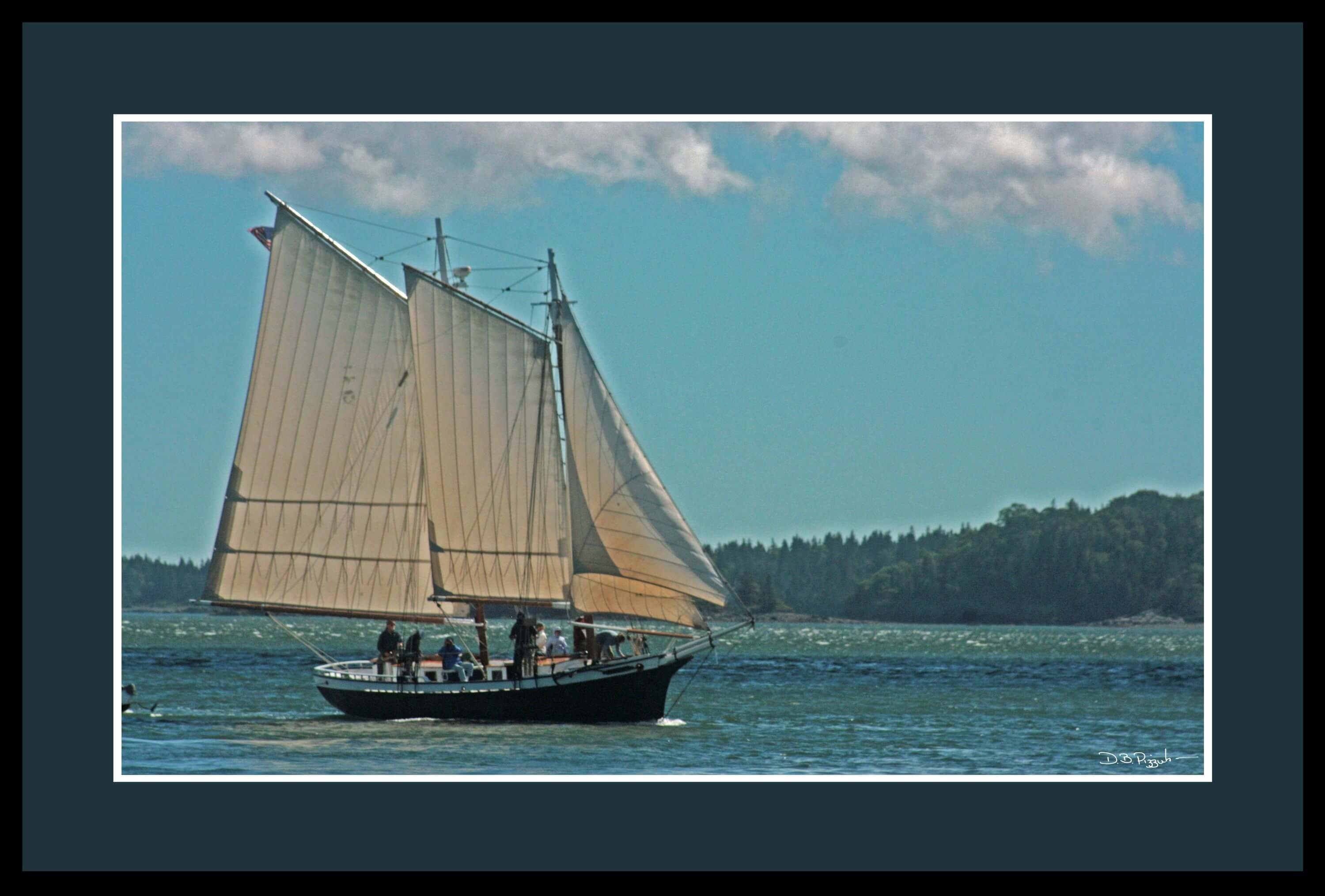 Maine Windjammer Cruises Schoonr Mistress