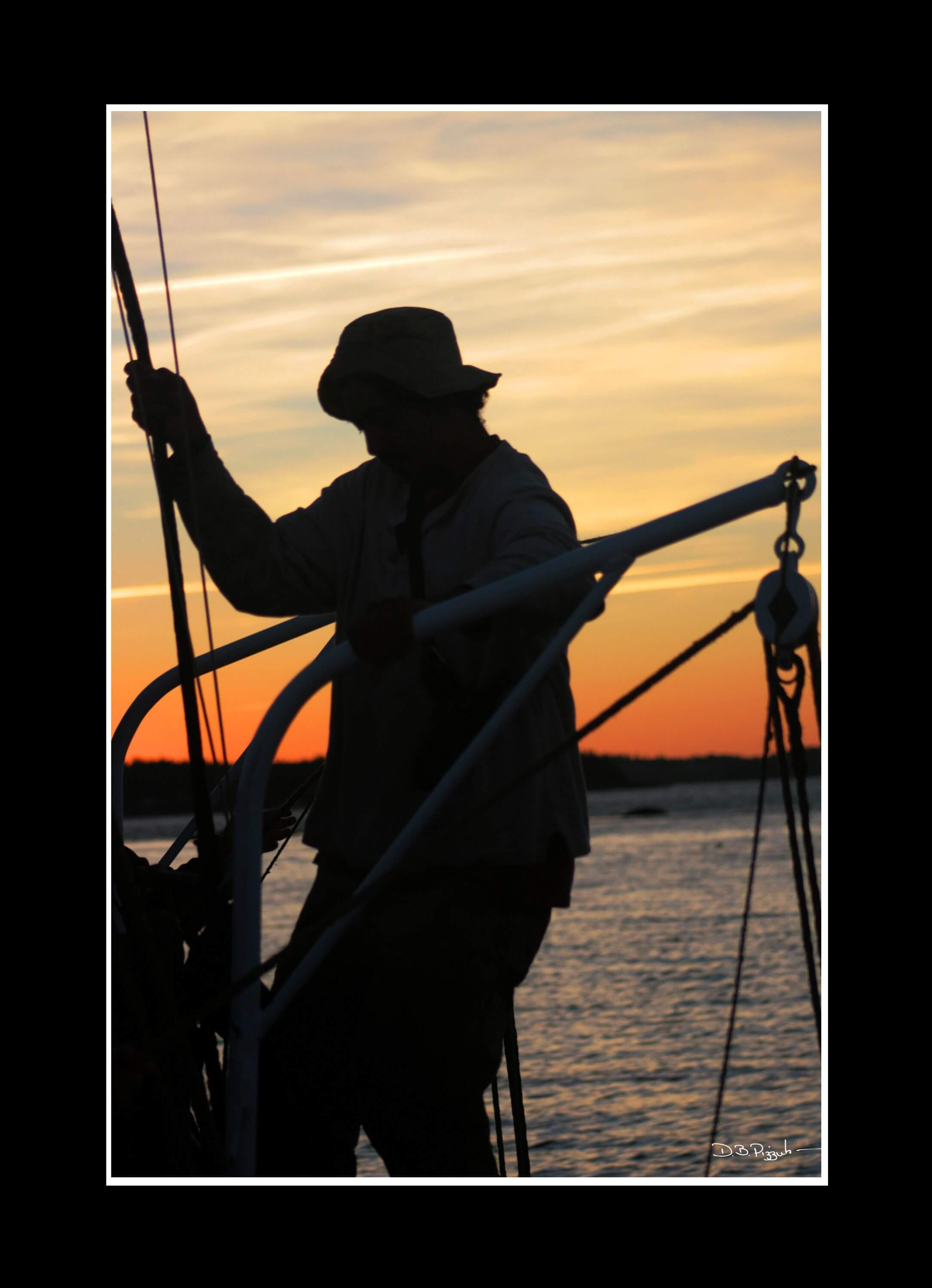 Maine Windjammer Cruises Sunset Shadow