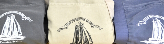 Maine Windjammer Cruises - Bag 1904 colors