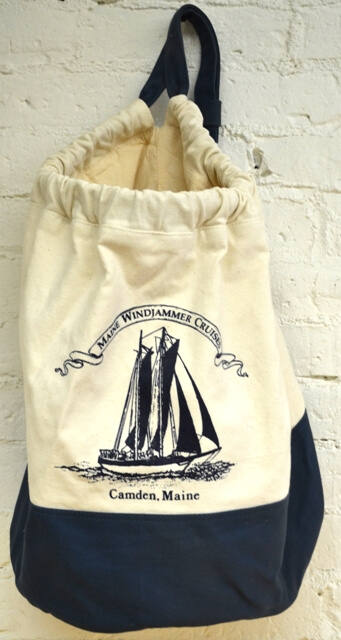 Maine Windjammer Cruises - Canvas bag