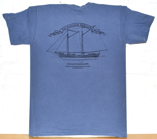 Maine Windjammer Cruises - Comfort Colors T-shirt