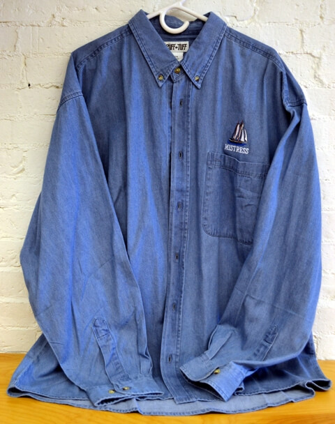Maine Windjammer Cruises - Denim shirt