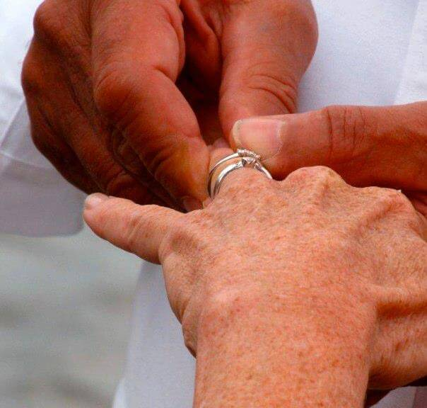 Some people choose to renew their vows on one of our cruises.