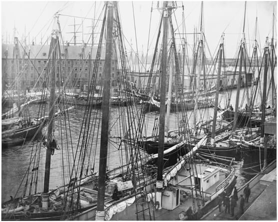 Cargo schooners Boston
