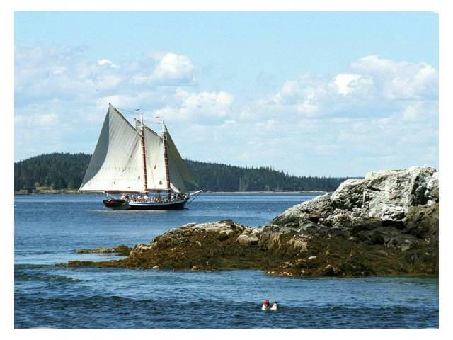 Maine Windjammer Cruises - Mercantile photograph Fred LeBlanc