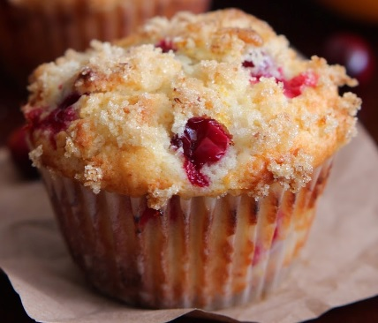 cranberry muffins on the Schooner Mercantile
