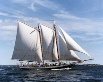 Schooner Grace Bailey, Maine Windjammer Cruises